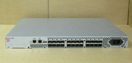 Brocade 340 BR-340-0004 24-Port 8G Fibre Channel Rackmount 1U SAN Network Switch